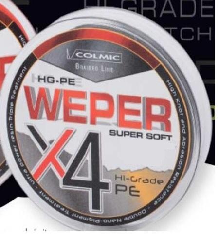 COLMIC WEPER X4 1000Y 80LB 0,45MM