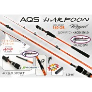 AQS HARPOON REGAL SLOW PITCH 160GR (ACID)