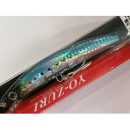 YO ZURI CRYSTAL MINNOW 3D FLOATING 130MM GHIW