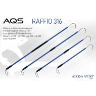 RAFFIO AQS ALLUMINIO 150 CM