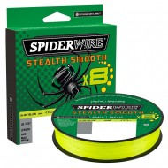 SPIDERWIRE STEALTH SMOOTH X8 YELLOW 150MT 0,09MM