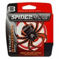SPIDERWIRE STEALTH SMOOTH 8 RED 150MT 0,07MM