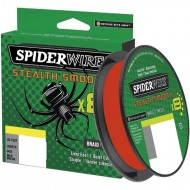 SPIDERWIRE STEALTH SMOOTH X8 RED 300MT 0,15MM