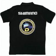 POLO BLACK SHIMANO SIZE XXXL