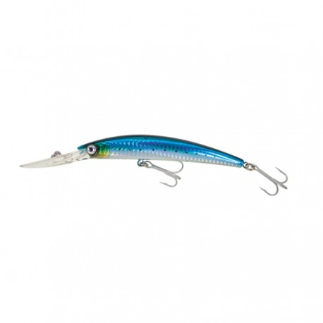 YO ZURI CRYSTAL MINNOW DEEP DIVER 110MM GHIW