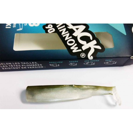 BLACK MINNOW 90MM KAKI (CODA) 3PZ