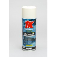 GELCOAT SPRAY 400ML WHITE