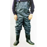 NYLON CHEST WADERS TAGLIA 43/44 - SIZE 10