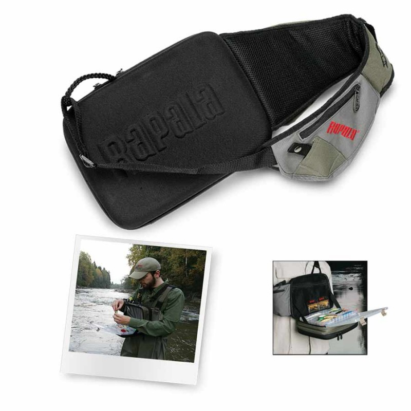 Rapala sling bag for Spiderwire sling fishing backpack